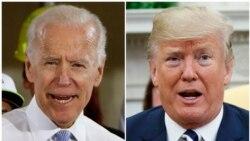 Trump နဲ႔ Biden အျပန္အလွန္တုိက္ခုိက္ ေျပာဆုိ