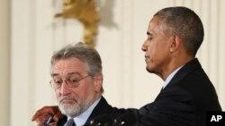 Robert DeNiro recibe la Medalla Presidencial de la Libertad 2016