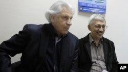 Генри Резник и Олег Орлов. Москва, Россия. 14 июня 2011 г.