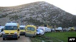 حکام کا کہنا ہے کہ جائے حادثہ پر امدادی سرگرمیاں جاری ہیں (فائل فوٹو)