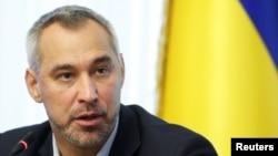 Tổng công tố viên Ukraine Ruslan Ryaboshapka.
