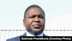 Filipe Nyusi, président du Mozambique