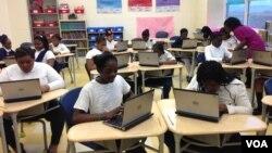 Sekolah Dasar khusus perempuan Akademi Excel di Washington, D.C. (foto: dok).
