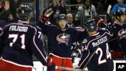 Игроки Columbus Blue Jackets