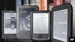 Los lectores electrónicos son ahora parte importante de la lectura en Estados Unidos.