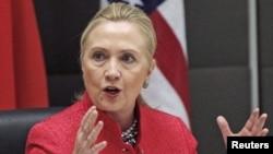 美國國務卿希拉里.克林頓(資料圖片)