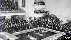 Подписание Версальского мирного договора