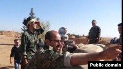Şervanên YPG li Serêkanîyê