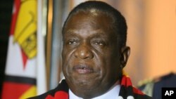 President Emmerson Mnangangwa Announces Robert Mugabe's Death 3