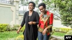 Diane Rwigara n'umubyeyi we Adeline Rwigara