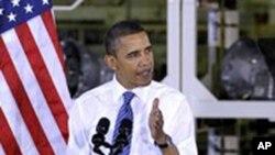 美国总统奥巴马周二在印第安纳州