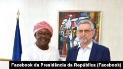 Umaro Sissoco Embalo e Presidente de Cabo Verde, Jorge Carlos Fonseca