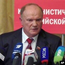俄共領袖久加諾夫