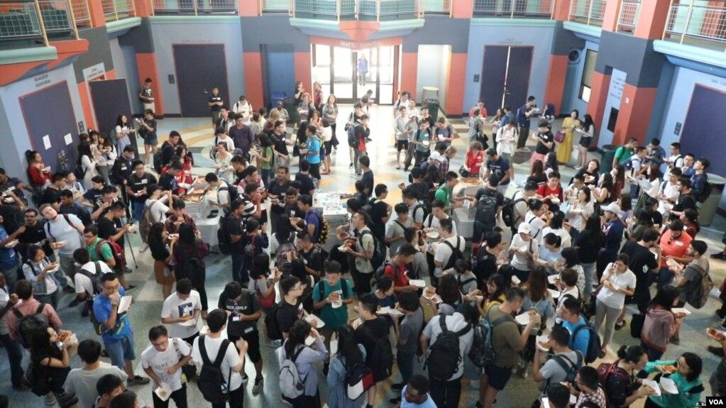 Các sinh viên quốc tế tại Đại học Rice, Texas
