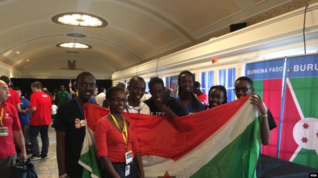 Đội tuyển Burundi tại cuộc thi