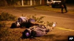 멕시코 경찰이 마약 범죄조직 소탕작전 과정에서 조직원 2명을 사살했다. (자료사진)