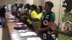 Zanu PF Members Singing ...