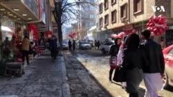 تجلیل از روز عاشقان در شهر کابل
