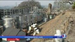 وضعیت کارخانه های شراب سازی کالیفرنیا پس از آتش سوزی گسترده