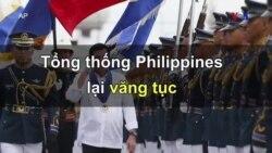 Tổng thống Philippines lại văng tục