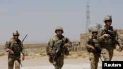 Trupa amerikane në Afganistan