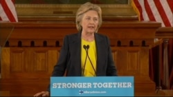 Clinton: America's Struggle With Race 'Far From Finished'
