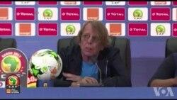 CAN 2017: réaction de Claude Le Roy, entraineur du Togo et Emmanuel Adebayor, capitaine de l'équipe