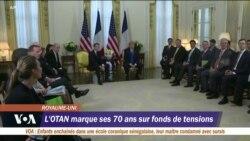 L'Otan marque son 70e anniversaire dans un climat de tension