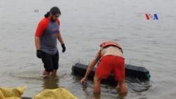 Tái sử dụng bồn cầu để nuôi hàu