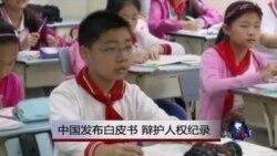 中国发布白皮书 辩护人权纪录