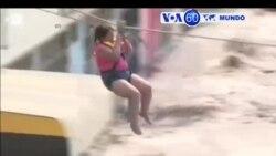 Manchetes Mundo 21 Março 2017: Perú enfrenta inundaçōes
