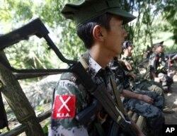 Myanmar Ethnic Rebel