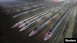 중국의 고속열차. (자료사진)