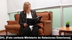 Nancy Hernández López, máster en Derecho Público, fue propuesta por Costa Rica como jueza de la Corte Interamericana de Derechos Humanos (IDH). [Foto cortesía Ministerio de Relaciones Exteriores de Costa Rica].