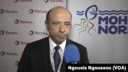 Le directeur-général de Total, Pierre Jessua, à Brazzaville, au Congo, le 27 avril 2017. (VOA/Ngouela Ngoussou)