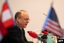 Маршалл Біллінгслі, спецпредставник президента США із контролю над озброєнням, 23 червня 2020 у Відні після переговорів із Росією