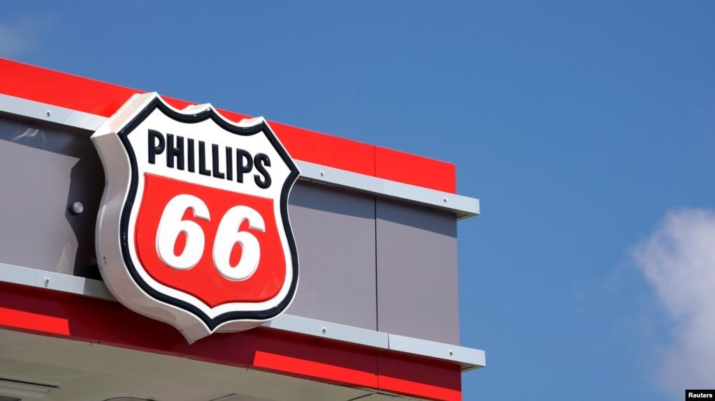 菲利普斯66石油公司的标志。