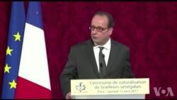 Hollande réintègre solennellement 28 tirailleurs sénégalais dans la nationalité française (vidéo)