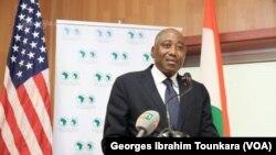 Le Premier ministre ivoirien, Amadou Gon Coulibaly, à Abidjan, le 30 octobre 2017. (VOA/Georges Ibrahim Tounkara)
