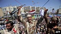 Demonstranti i vojska u Jemenu