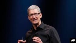 美國蘋果公司總裁庫克