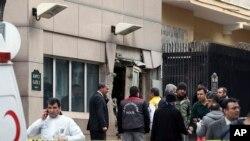 Turkey US Explosion