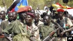 Tentara Sudan selatan (foto: dok) dilaporkan menduduki kota minyak penting yang disengketakan dengan Sudan.