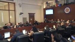 OEA pide dialogo abierto en Venezuela