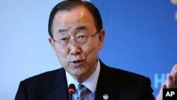 Ban Ki-moon, babban sakataren Majalisar Dinkin Duniya ko MDD, a takaice