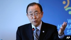 United Nations Secretary General Ban Ki-moon will attend a peace conference next week in Myanmar that seeks to end decades of armed conflict with ethnic minority groups, Myanmar officials say on Aug. 23, 2016.