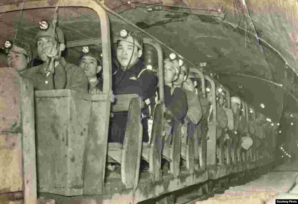 The Joban coalfield in Iwaki was one of Japan's largest, (Courtesy, Joban Kosan Co.)