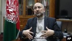 Penasihat keamanan nasional Afghanistan, Mohammad Hanif Atmar (foto: dok).