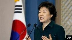 Güney Kore Cumhurbaşkanı Park Geun-hye