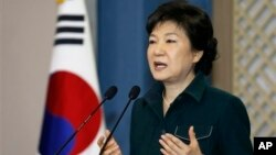 韓國總統朴槿惠3月4日對平壤的挑釁作出有力的回應